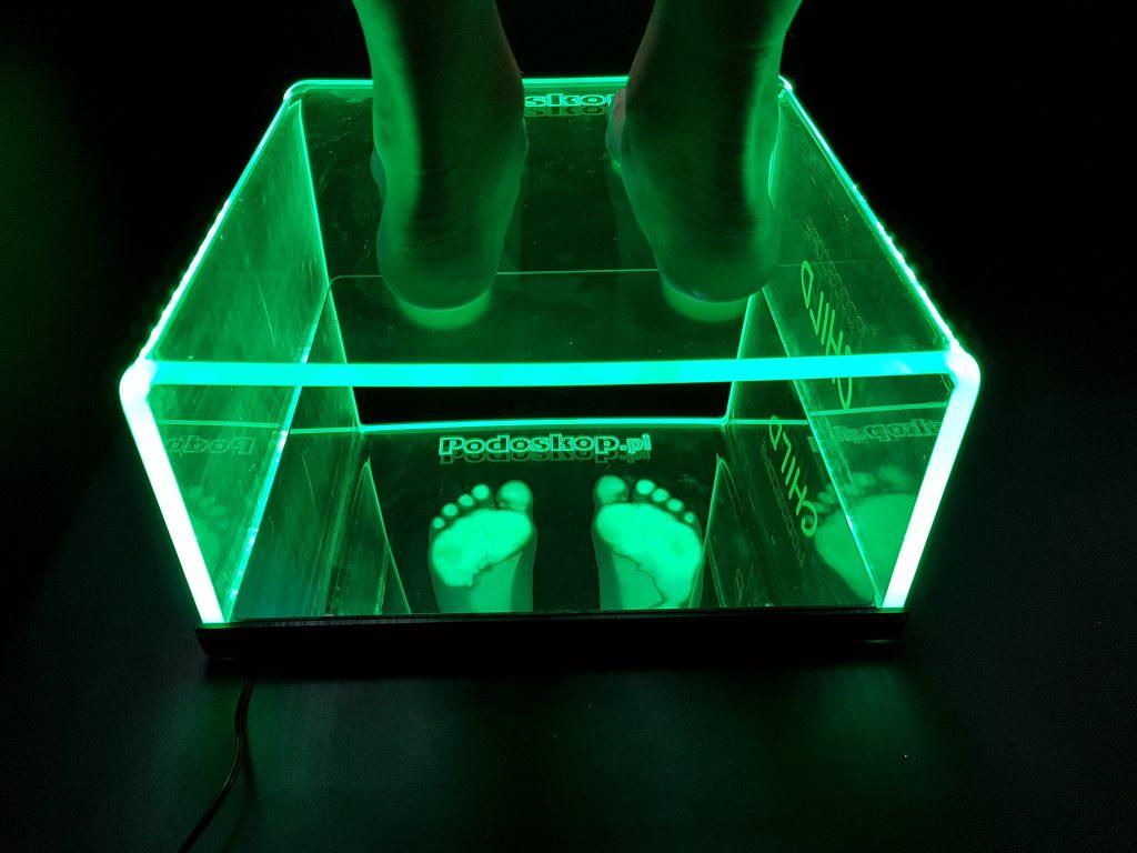 Diagnostic Podoscope for children